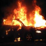 Τυμπάκι: Κάηκε αυτοκίνητο