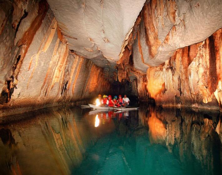 Το μεγαλύτερο πλωτό υπόγειο ποτάμι!