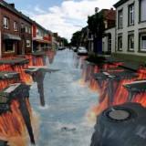 Δείτε φωτογραφίες από υπέροχα τρισδιάστατα γκράφιτι