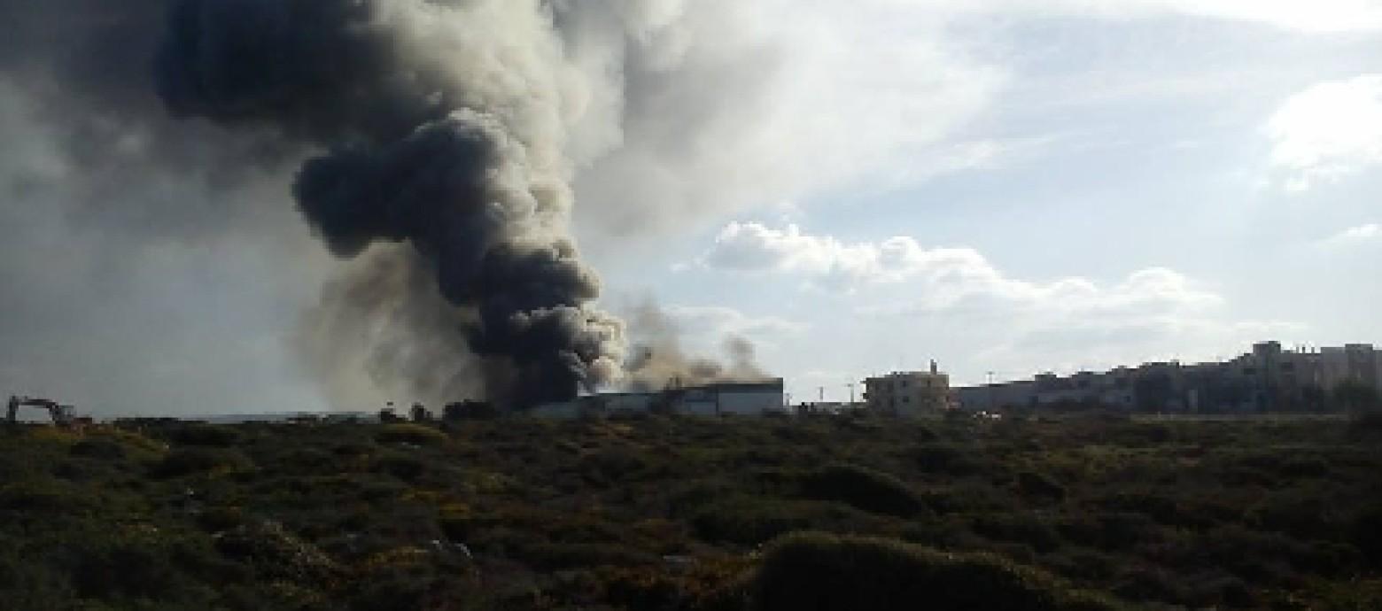 Φοβούνται κατάρρευση της στέγης στην Creta Farm! (φωτογραφίες)