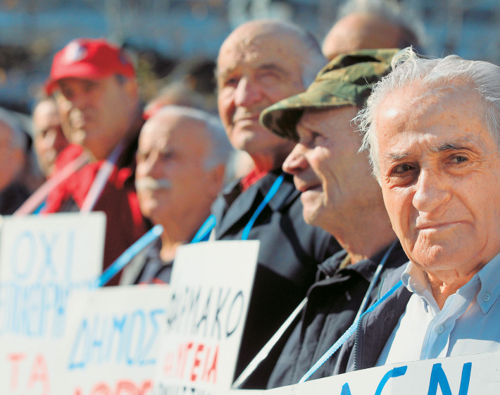 Στις 20 Μαρτίου κατεβαίνουν στους δρόμους οι συνταξιούχοι της Κρήτης (βίντεο)