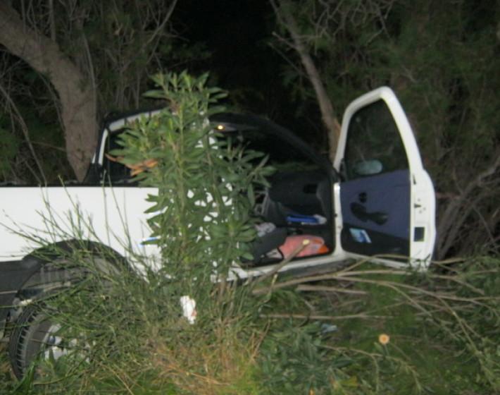 ΧΑΝΙΑ: Βγήκε με απλά τραύματα από τροχαίο (Δείτε φωτογραφίες)