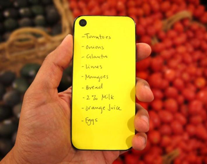 Αυτοκόλλητα χαρτάκια σημειώσεων για το iPhone