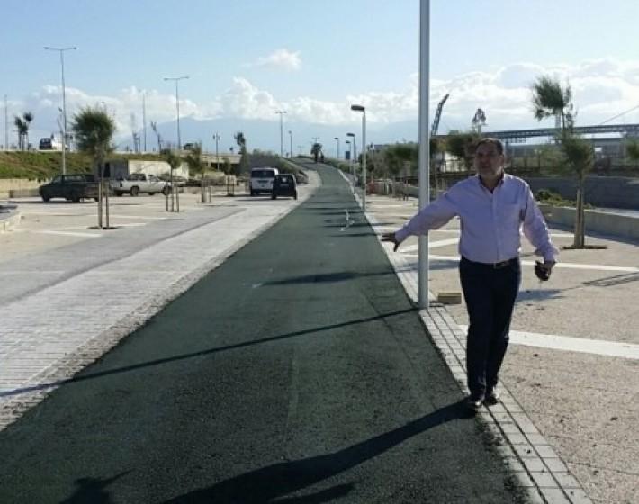 Ηράκλειο: Ποδηλατοδρόμος 2,5 χλμ από το Παγκρήτιο μέχρι τον Προμαχώνα του Αγ. Ανδρέα