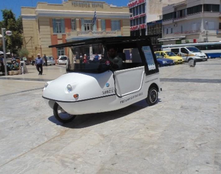 Έτοιμο το ηλιακό όχημα για το γύρο της Κρήτης