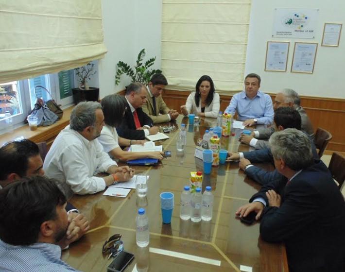 Συνάντηση Όλγας Κεφαλογιάννη Σταύρου Αρναουτάκη για κοινή πορεία ανάπτυξης του τουρισμού στην Κρήτη