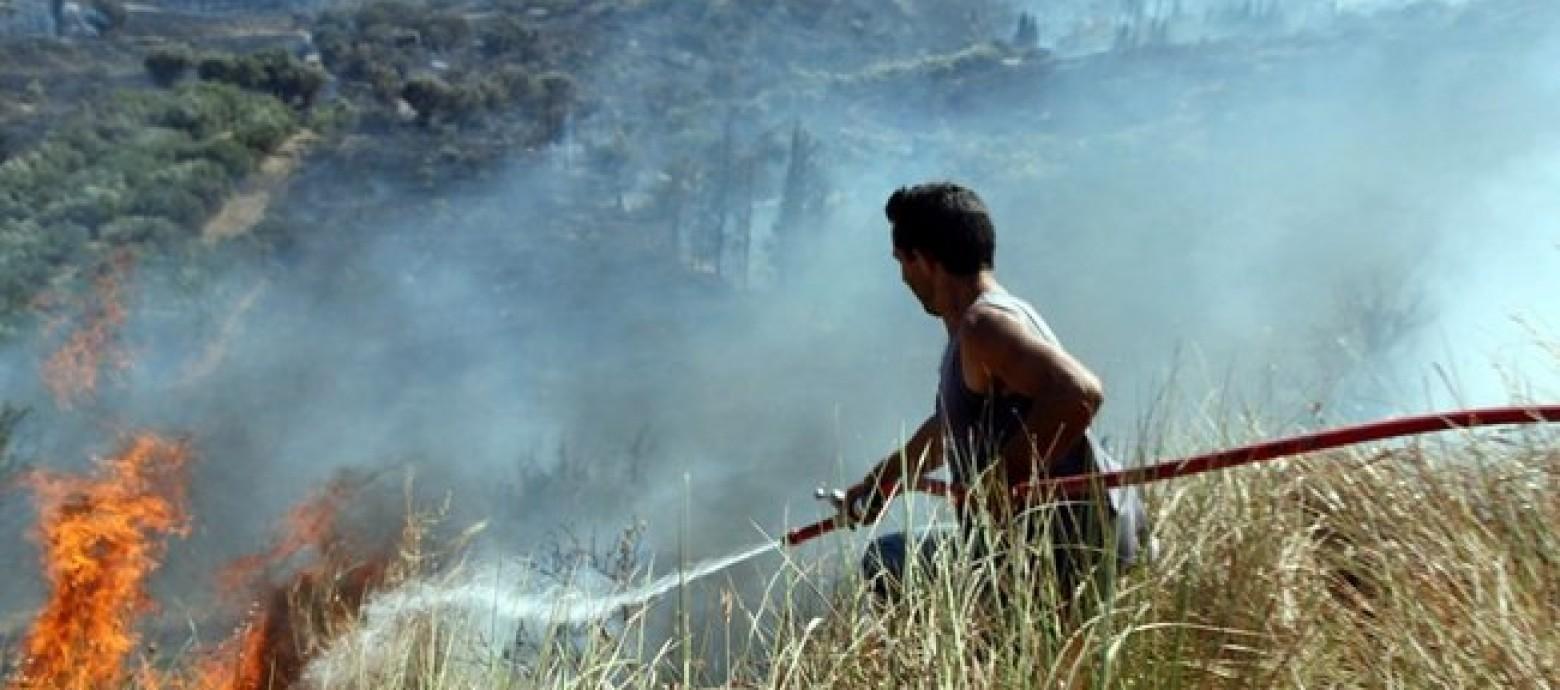 Πυρκαγιά στα Φαλάσαρνα Χανίων