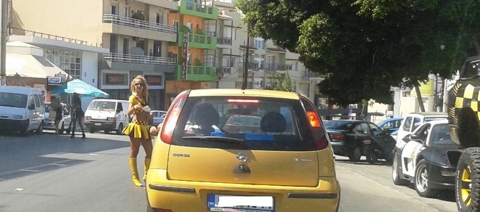 Αναστάτωσαν το Ηράκλειο δύο κοπέλες με διαφημιστικά φυλλάδια