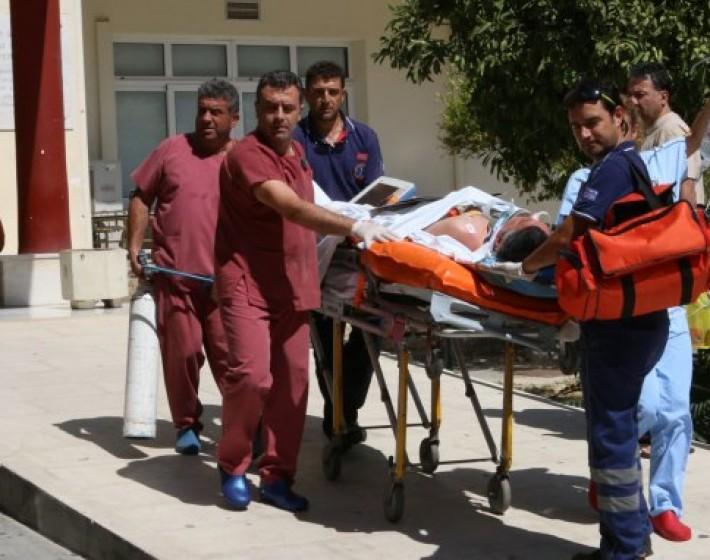 Σε κρίσιμη κατάσταση μεταφέρθηκε με  C-130 στην Αθήνα ο 46χρονος φίλαθλος του Εθνικού