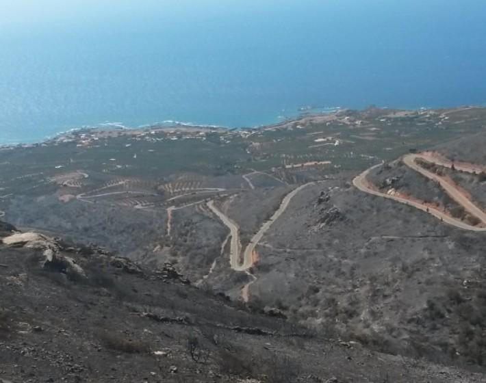 3.000 στρέμματα κάηκαν στην Κίσσαμο. Δείτε φωτογραφίες από την καταστροφή