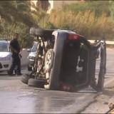 Τροχαίο ατύχημα στην Αγιά Φωτία