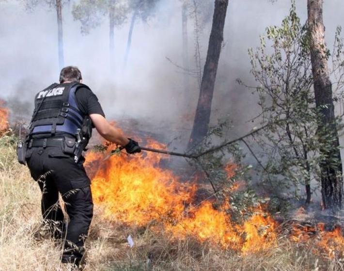 Χανιά: Πυρκαγιά στον Πλατανιά