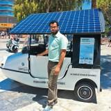Το 2015 τα 100 πρώτα ηλιακά οχήματα που δημιούργησε ο Κρητικός Μανόλης Τσικανδυλάκης