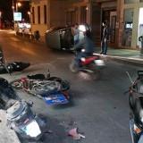 Τρελή πορεία αυτοκινήτου στο Ηράκλειο