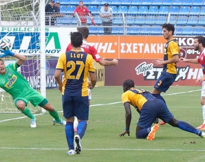 Πλατανιάς  – Αστέρας Τρίπολης: 1 – 0