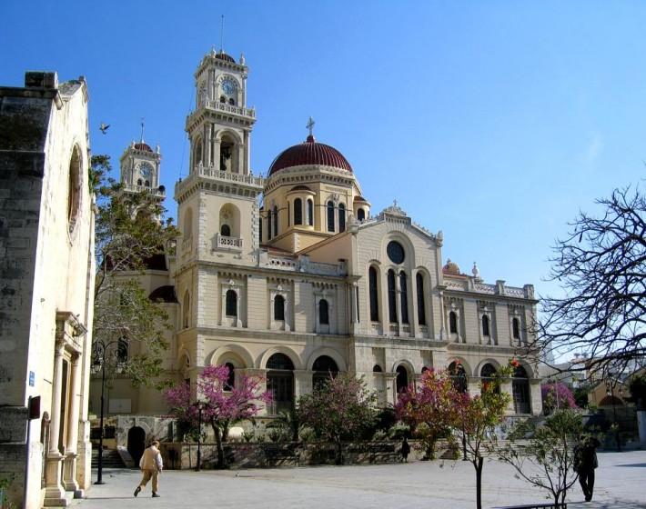 Άγιος Μηνάς. Ο Πολιούχος. Σημείο Αναφοράς της Πόλης του Ηρακλείου