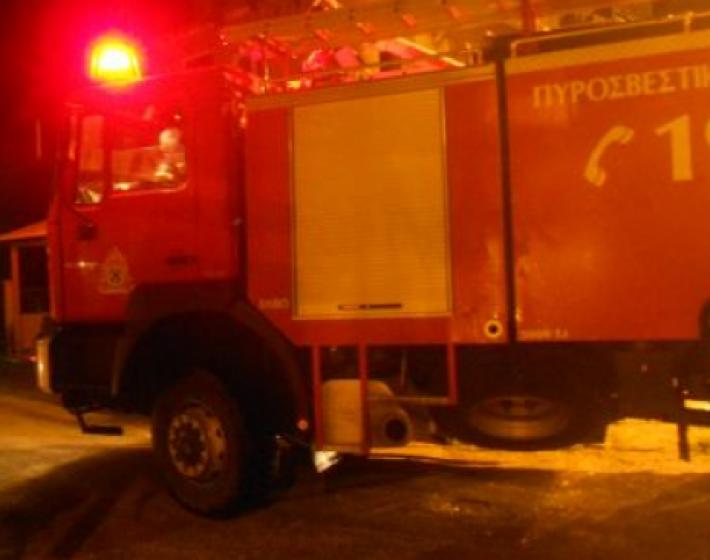 Πυρκαγιά σε παντοπωλείο στο κέντρο του Ηρακλείου