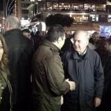 Σιωπηλή διαμαρτυρία κατά της βίας στα Λιοντάρια-Παρών ο Π.Ινιωτάκης