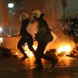 Οι αντιεξουσιαστές του Ηρακλείου (φωτογραφίες από τα επεισόδια)