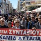 Στους δρόμους οι συνταξιούχοι στο Ηράκλειο