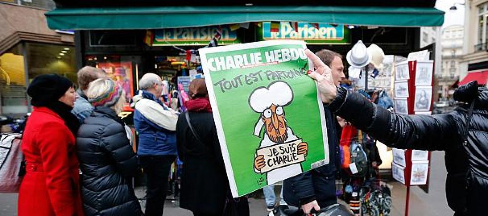 Με τη δημοσίευση νέων σκίτσων του Μωάμεθ  επανακυκλοφόρεί η Charlie Hebdo