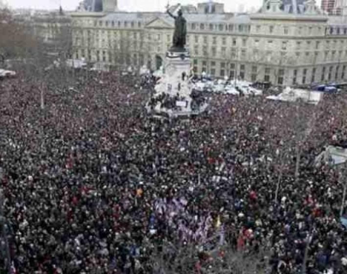 Φρανσουά Ολάντ: «Το Παρίσι είναι σήμερα η πρωτεύουσα του κόσμου»