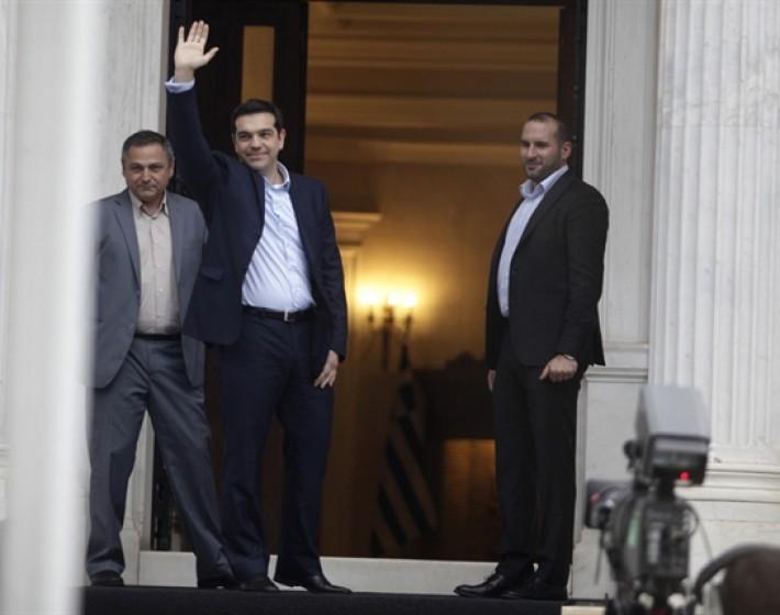 Στην τελική ευθεία για τη συγκρότηση της κυβέρνησής του βρίσκεται ο Αλέξης Τσίπρας
