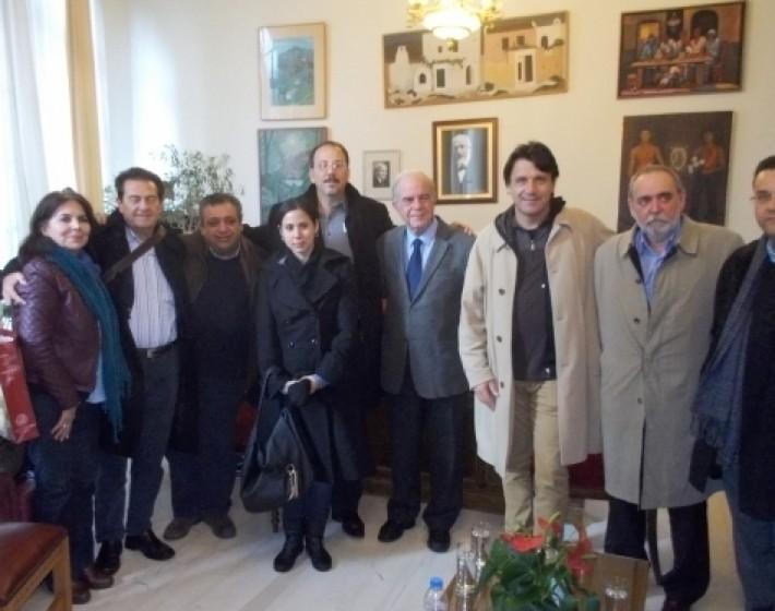 Τον Αλεχάντρο Κάστρο Εσπίν (ανιψιό του Φιντέλ Κάστρο) συνάντησε ο Β.Λαμπρινός