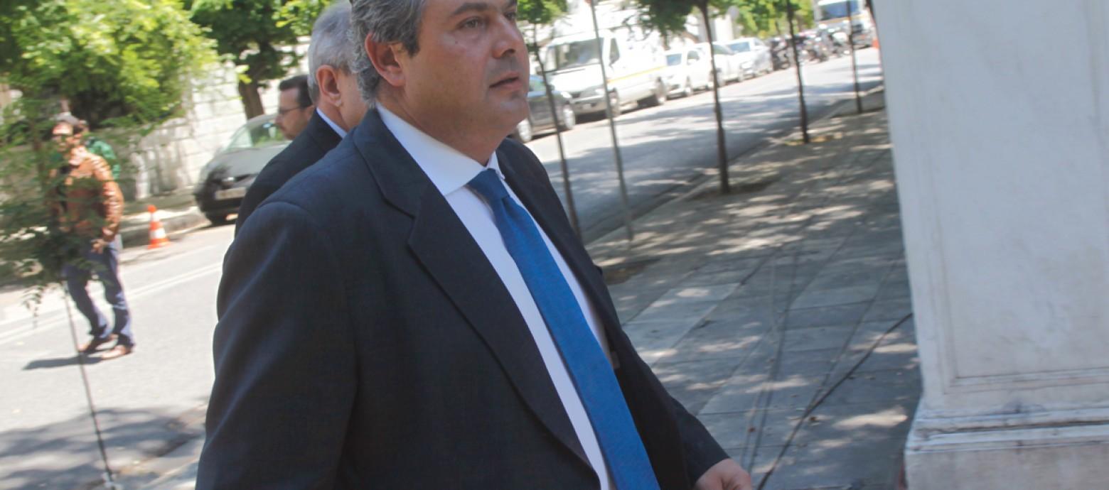 Στην Κρήτη σήμερα ο ο υπουργός Άμυνας Πάνος Καμμένος