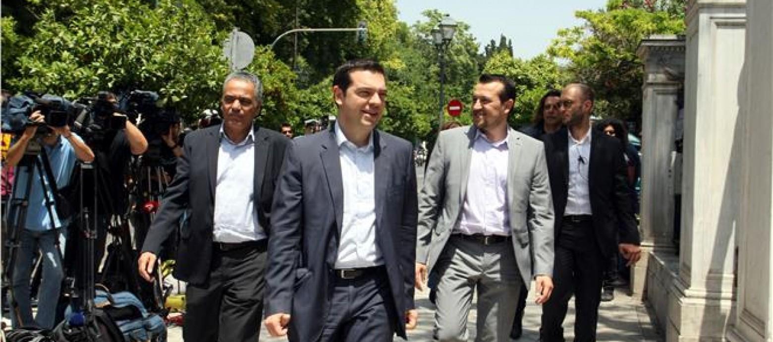 Οι  υπουργοί της κυβέρνησης Τσίπρα