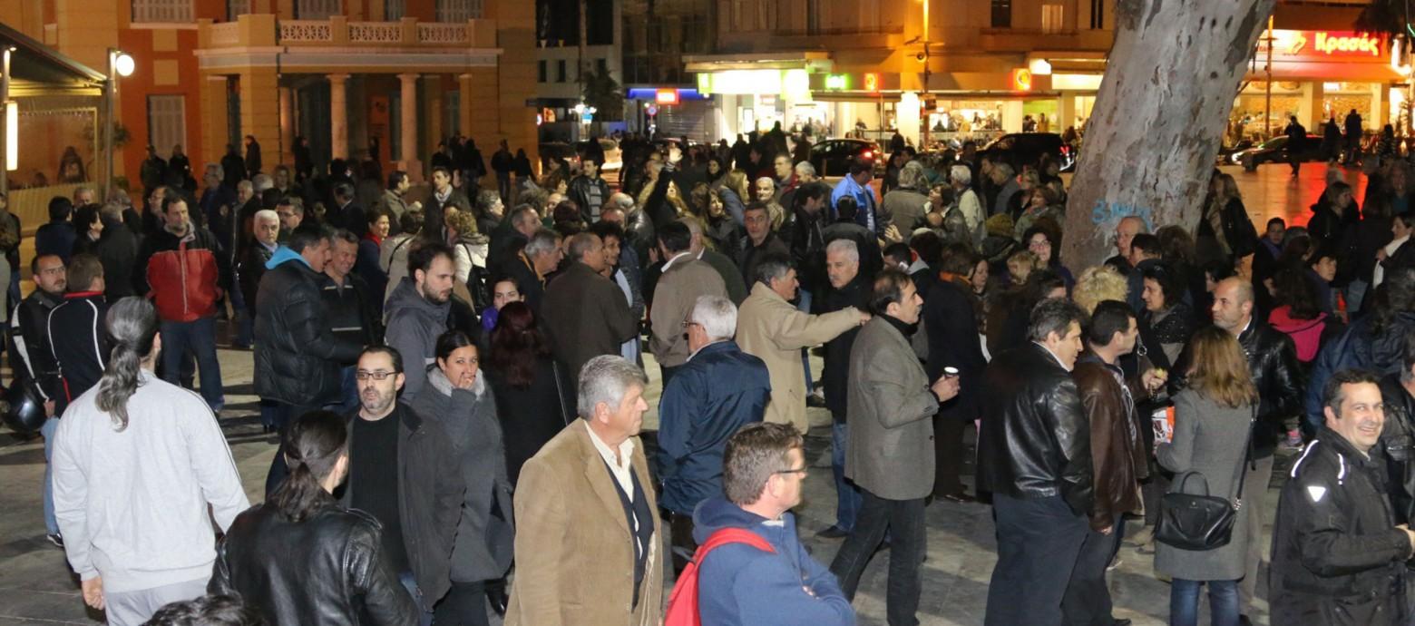 Ηράκλειο: Οι πολίτες στηρίζουν την κυβέρνηση