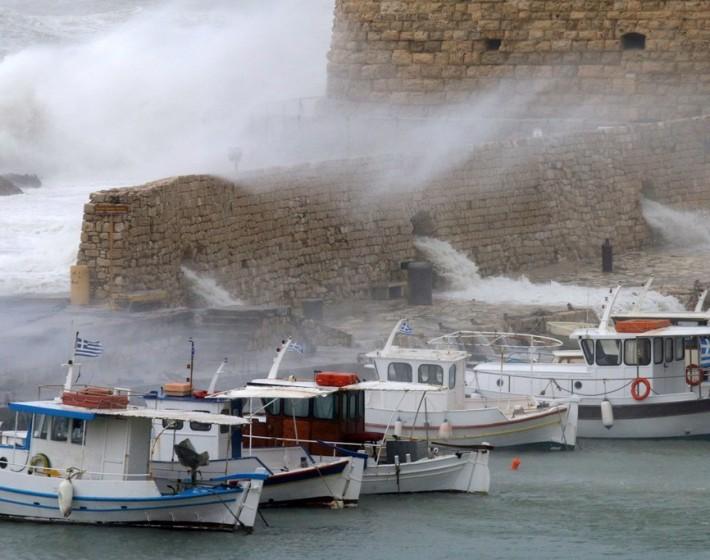 Τριήμερο με τσουχτερό κρύο και χιόνια στην Κρήτη