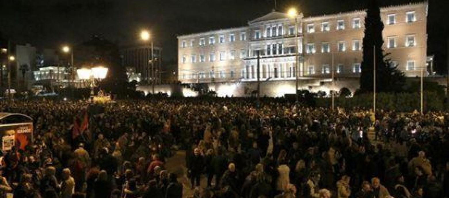 Ολη η Ελλάδα στο πλευρό της κυβέρνησης