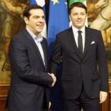 Τσίπρας-Ρέντσι Συμφωνούν σε μία κοινή προσπάθεια για την αντιμετώπιση της κρίσης