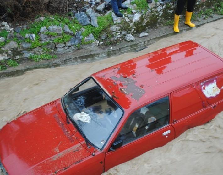 Πλημμύρισαν η Βιάννος και το Οροπέδιο Λασιθίου