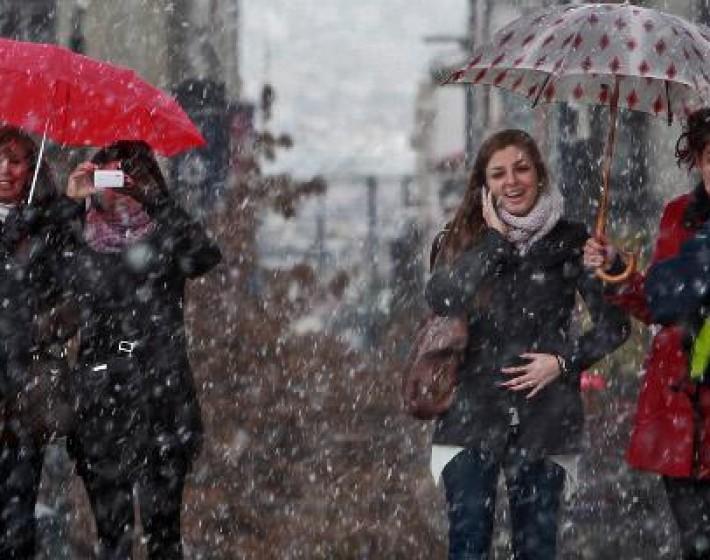 Νεφώσεις με χιονόνερο η πρόγνωση του καιρού για σήμερα στην Κρήτη