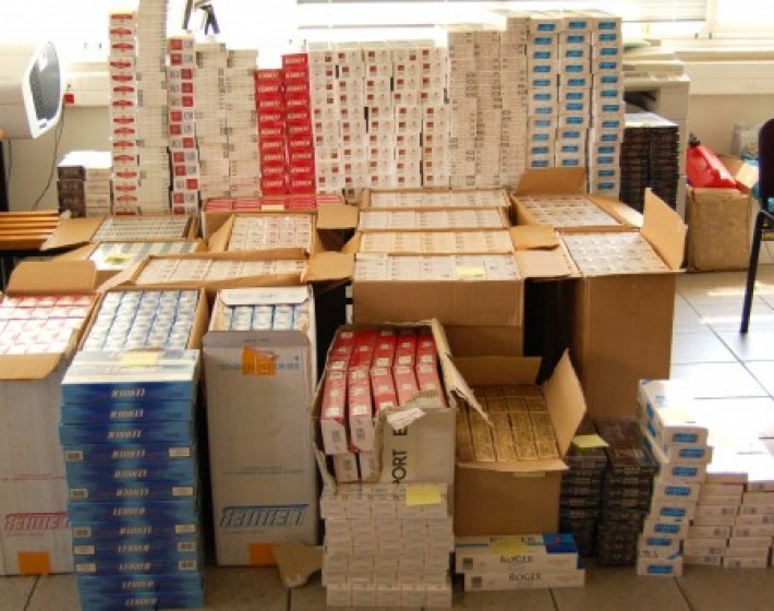 Συνελήφθη με 686 λαθραία πακέτα τσιγάρων