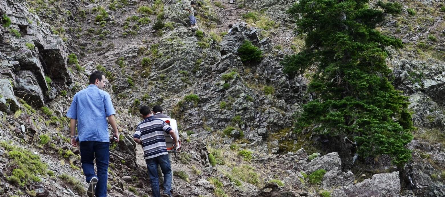 Αυτοκίνητο έπεσε σε γκρεμό 30 μέτρων στις Μουρνιές Ιεράπετρας