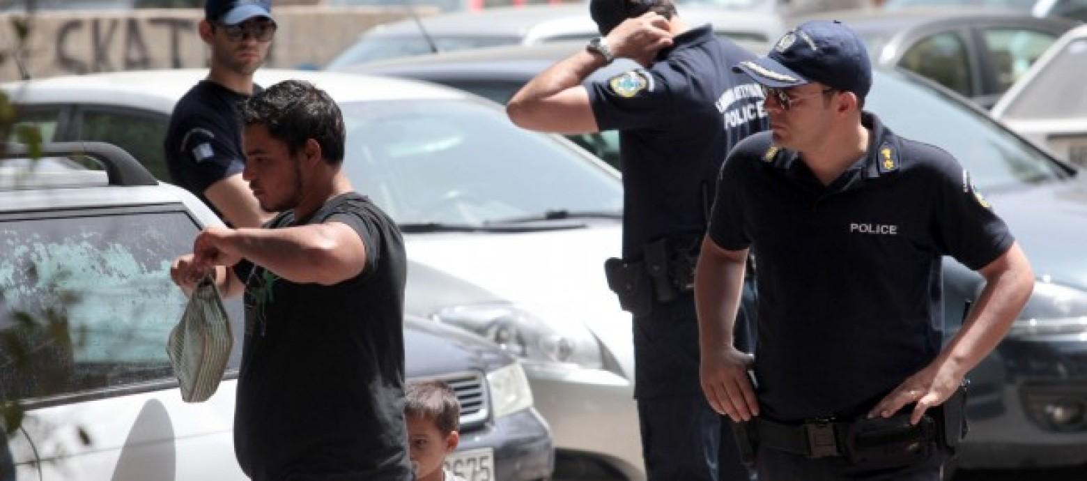 Αστυνομική επιχείρηση στο κέντρο του Ηρακλείου