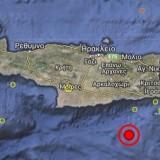 Σεισμική δόνηση 4,4 ρίχτερ δυτικά της Ιεράπετρας
