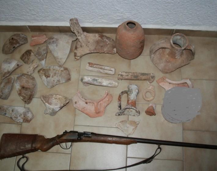 48χρονος με αρχαιολογική συλλογή συνελήφθη στη Σητεία