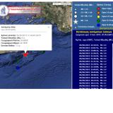 5,4  Ρίχτερ ταρακούνησαν την Κρήτη λίγο μετά τα μεσάνυχτα