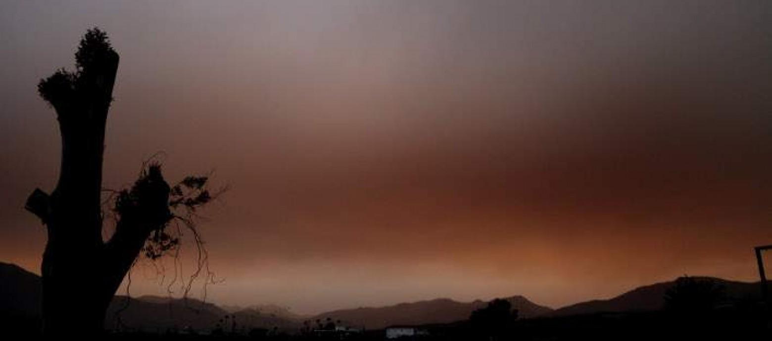 Διεύθυνση δημόσιας υγείας Κρήτης: Ανακοίνωση για την επέλαση της αφρικανικής σκόνης