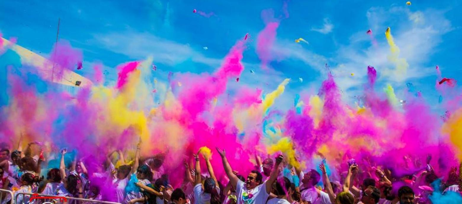 Χρώμα Run – Ο πιο χαρούμενος αγώνας στην Ελλάδα 14 Μαΐου 2016