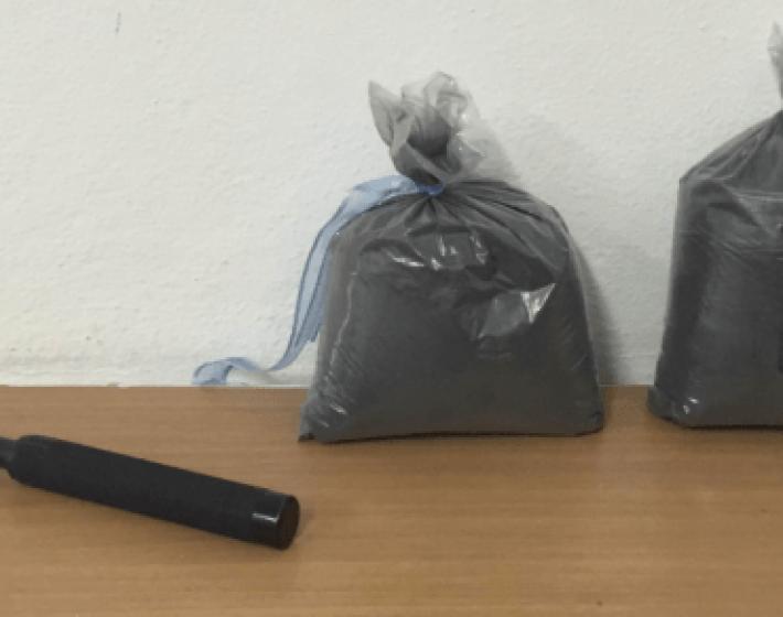 «Εκρηκτικές» συλλήψεις στη  Χερσόνησο-Κατασχέθηκαν 3,5 κιλά πυρίτιδα