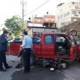 Μηχανή καρφώθηκε κάτω από τις ρόδες 4Χ4 στο Ηράκλειο