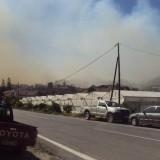 Μεγάλη πυρκαγιά σε εξέλιξη στην Ιεράπετρα