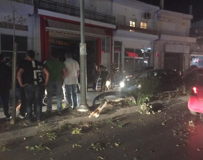 Ηράκλειο: Έχασε τον έλεγχο του οχήματος και τράκαρε σε δέντρο