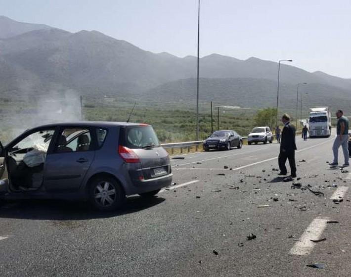 Μάλια: Τροχαίο ατύχημα με επτά τραυματίες