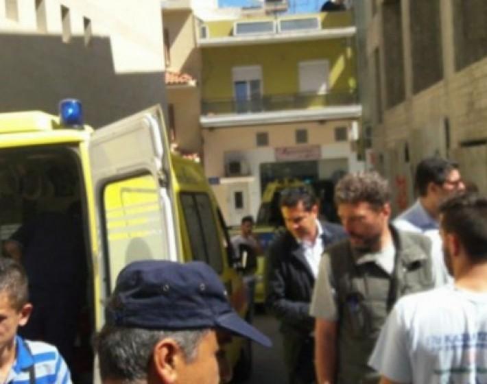 Σοβαρό εργατικό ατύχημα στο κέντρο του Ηρακλείου
